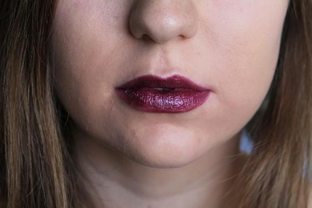 Too Faced La Creme Color Drenched Lipstick in Ursula
