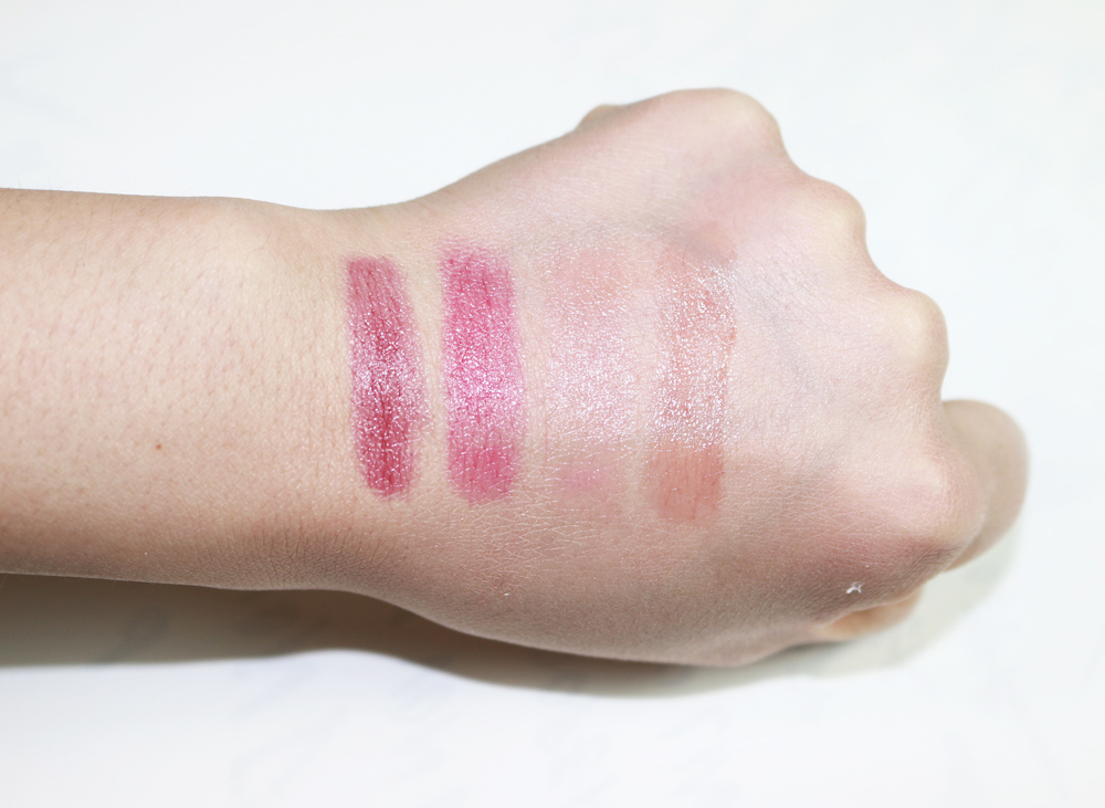 covergirl oh sugar vitamin infused balm swatches