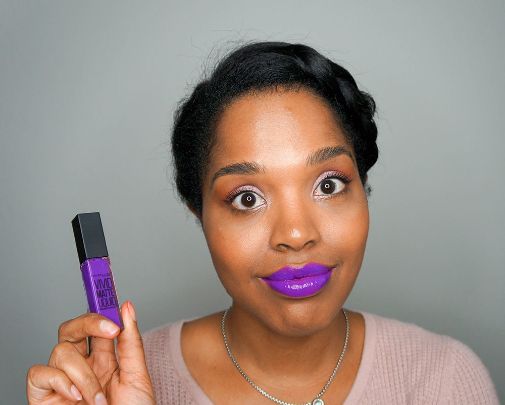 maybelline color sensational vivid matte liquid lip color