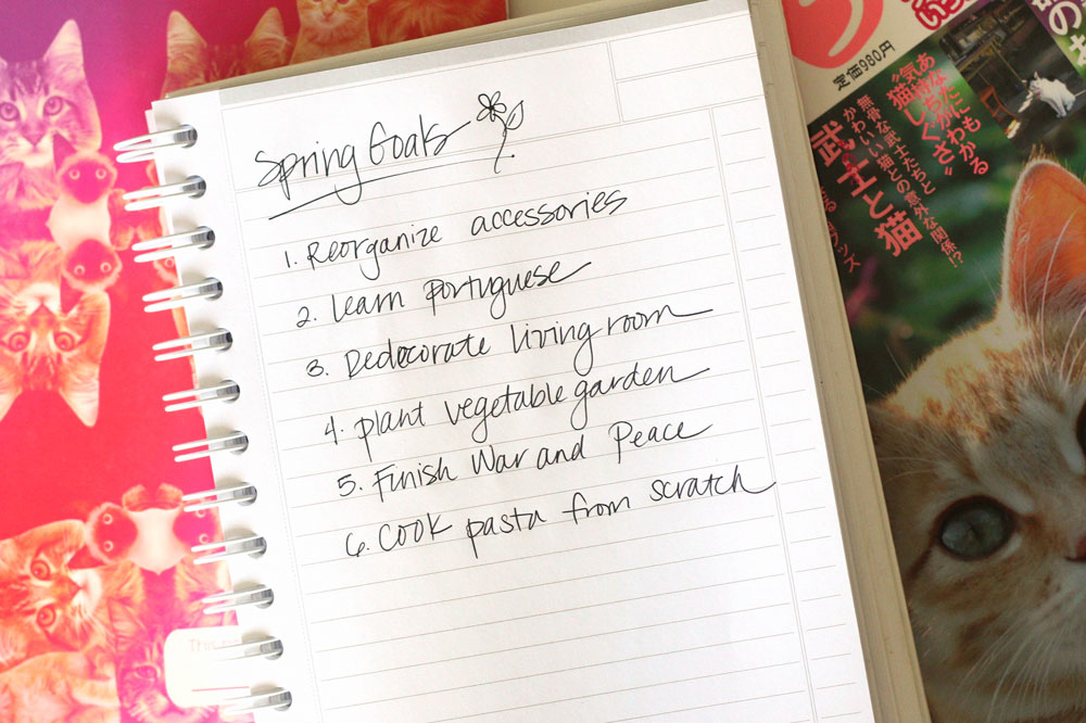tabs-spring-goals-notes-easter