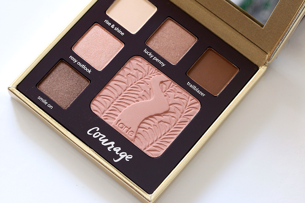 tarte double duty beauty classic courage palette