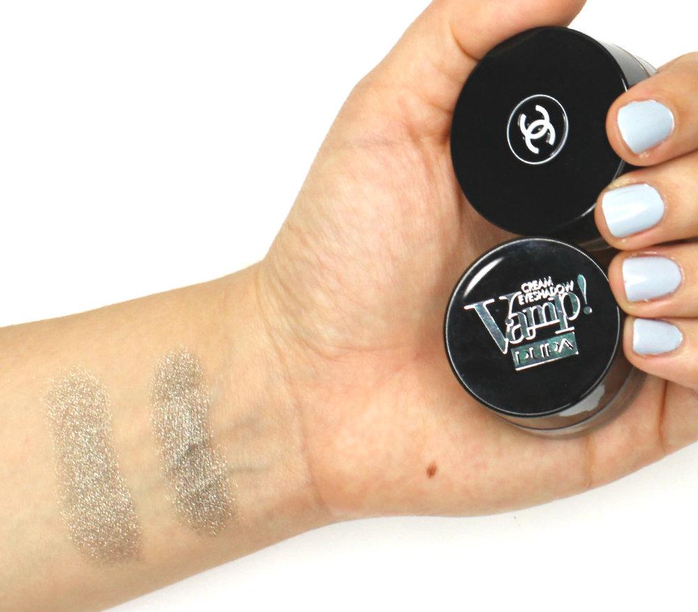 PUPA VAMP Cream Eyeshadow 200 Khaki Chanel Epatant Dupe