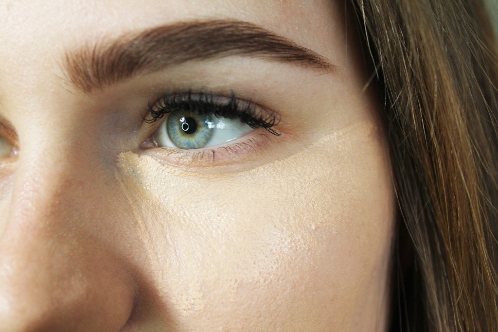 use your concealer as eye primer