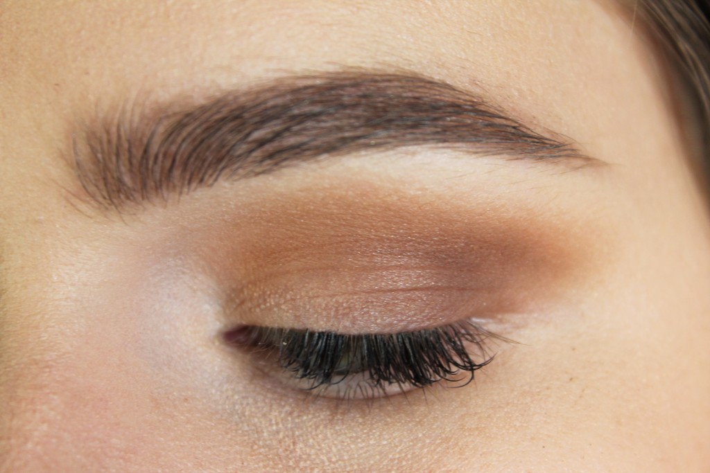 "Too Faced ""Truffled"" in the outer V"