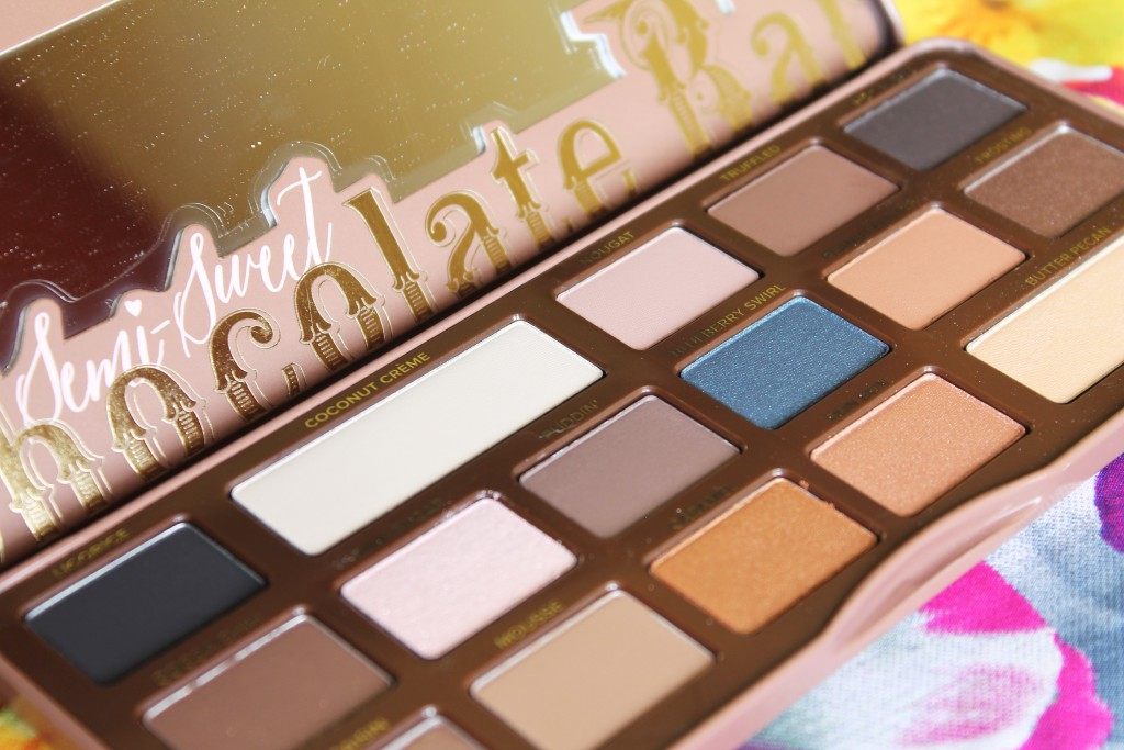 The Too Faced Semi Sweet Chocolate Bar Palette, $49