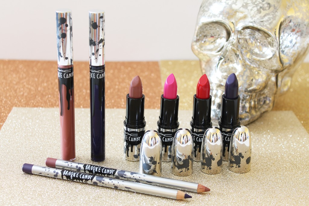 MAC Brooke Candy Collection lip products