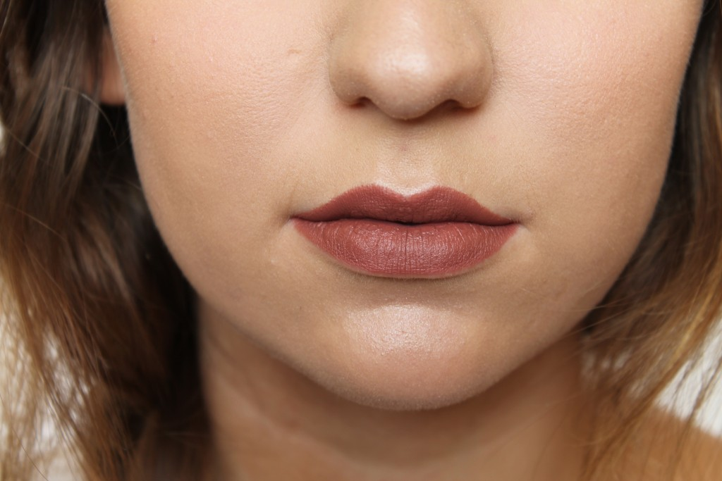 MAC Brooke Candy Whirl Lipstick (matte dirty rose)