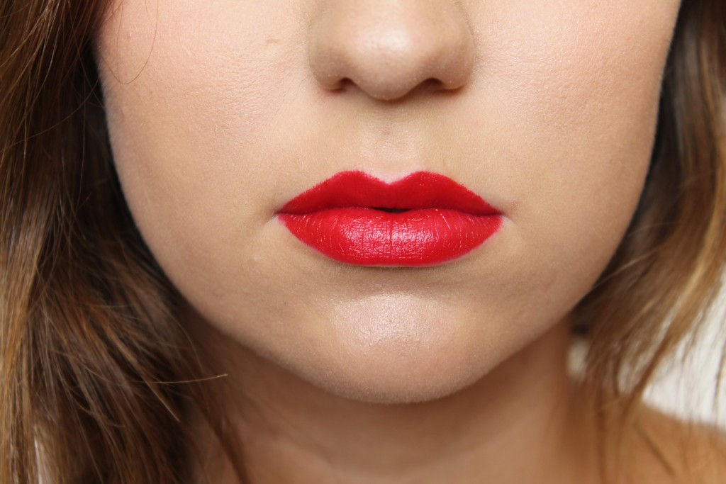 MAC Brooke Candy Mind Control Lipstick (amplified bright cherry red)