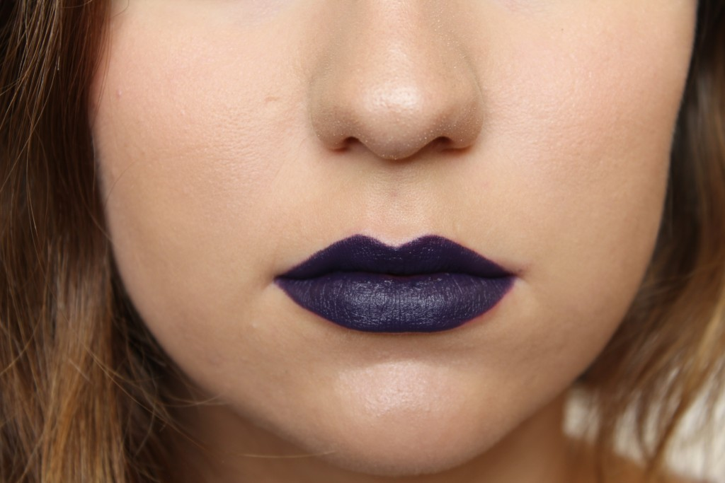 MAC Brooke Candy Witching Hour Lipstick (matte deep plum)