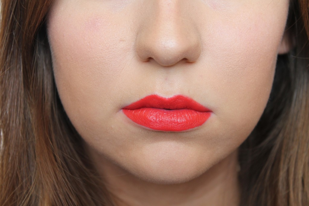Chris Chang x MAC Lipstick in Vermillion Vee