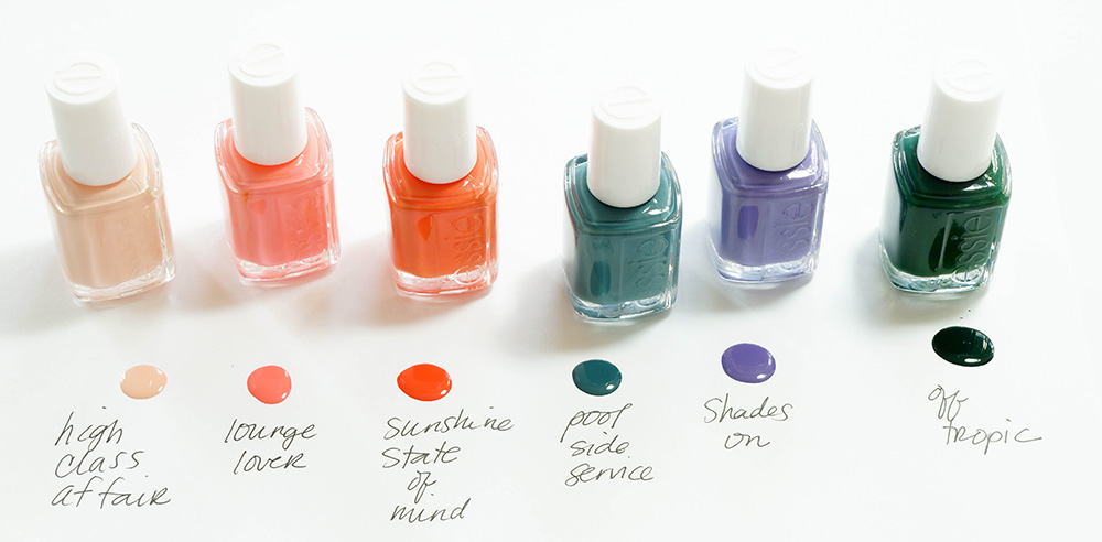 Palm Beach Awaits With the Essie Spring 2016 Collection - Makeup and Beauty Blog
