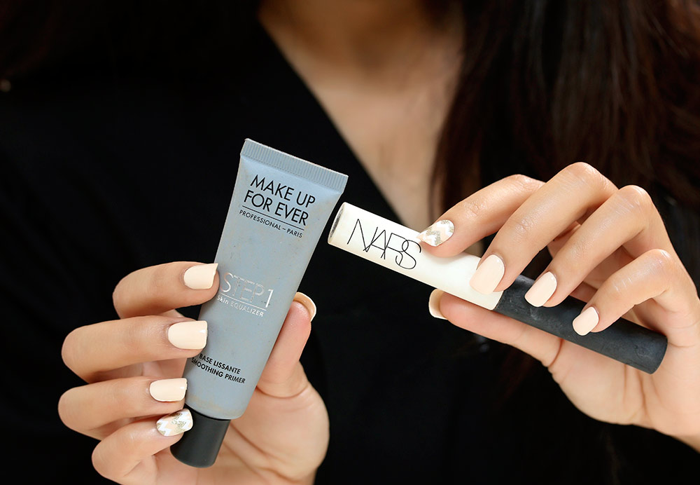 Two of my go-to primers by Make Up For Ever and NARS