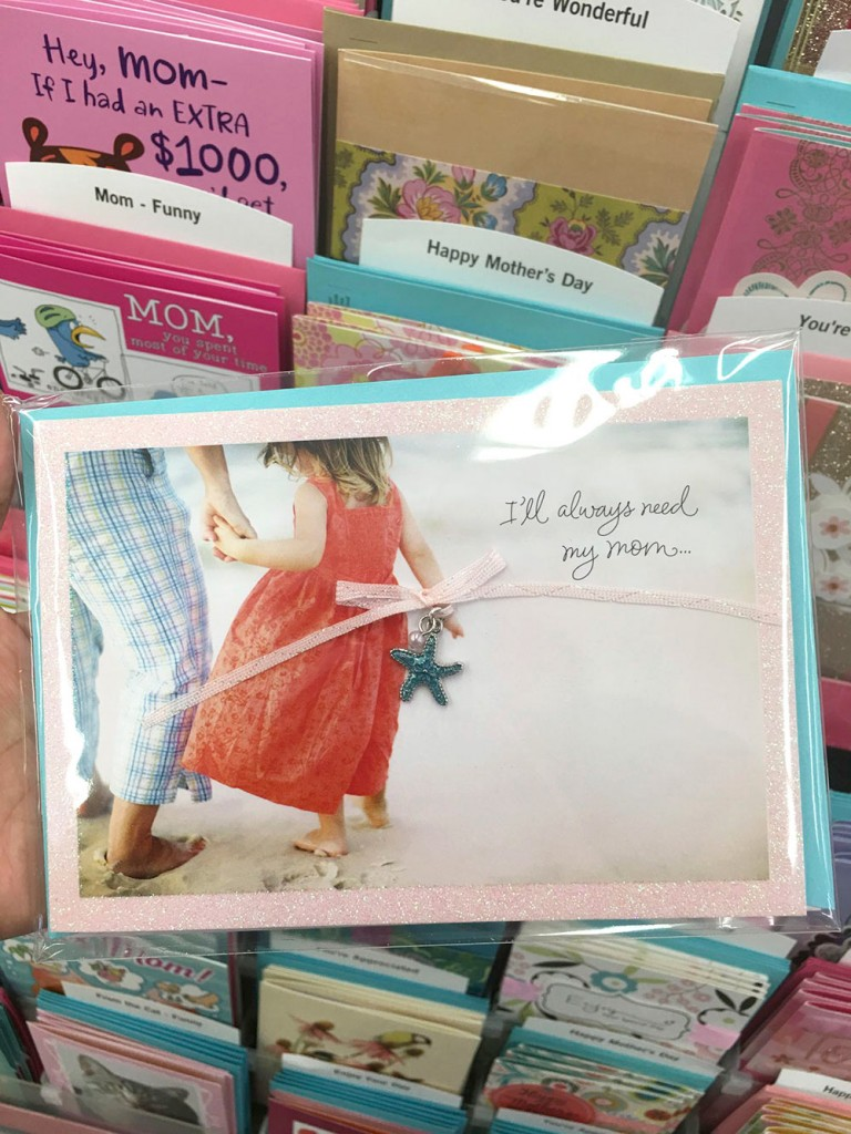 So sweet! This card has a keepsake necklace.