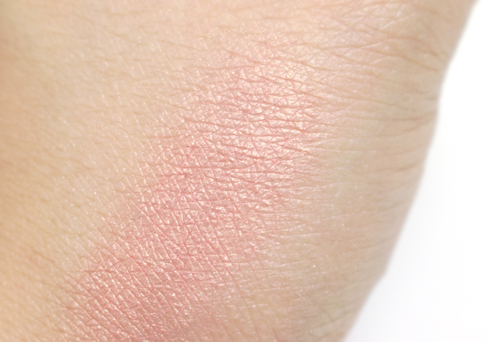 hm golden peach blush swatch