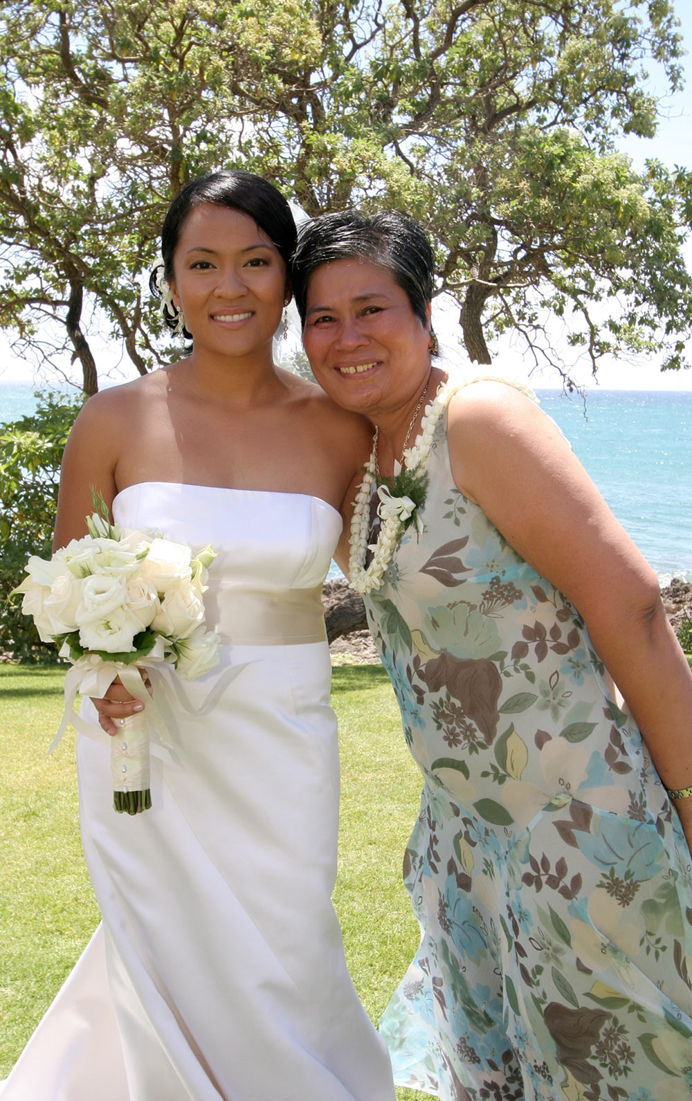 Me and mom on my wedding day
