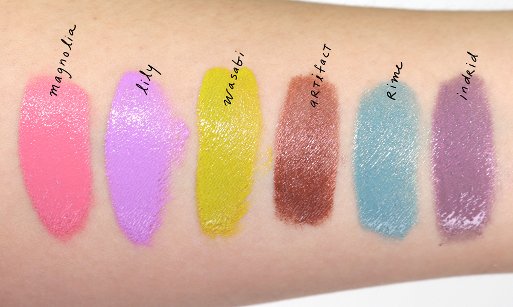 lip tar magnetic fields ss16 swatches