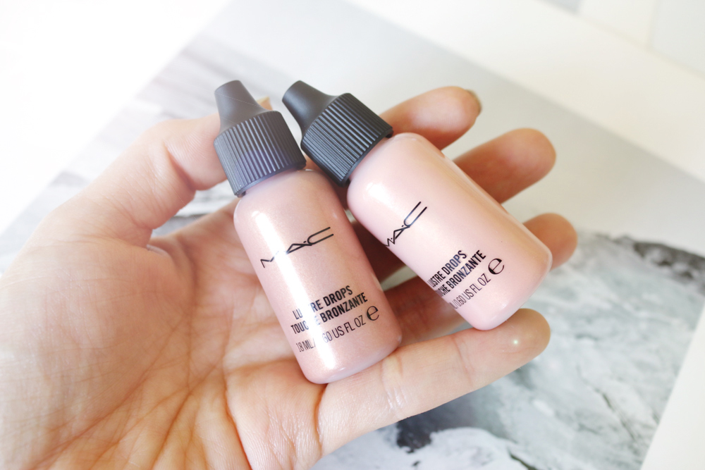 how to use mac lustre drops