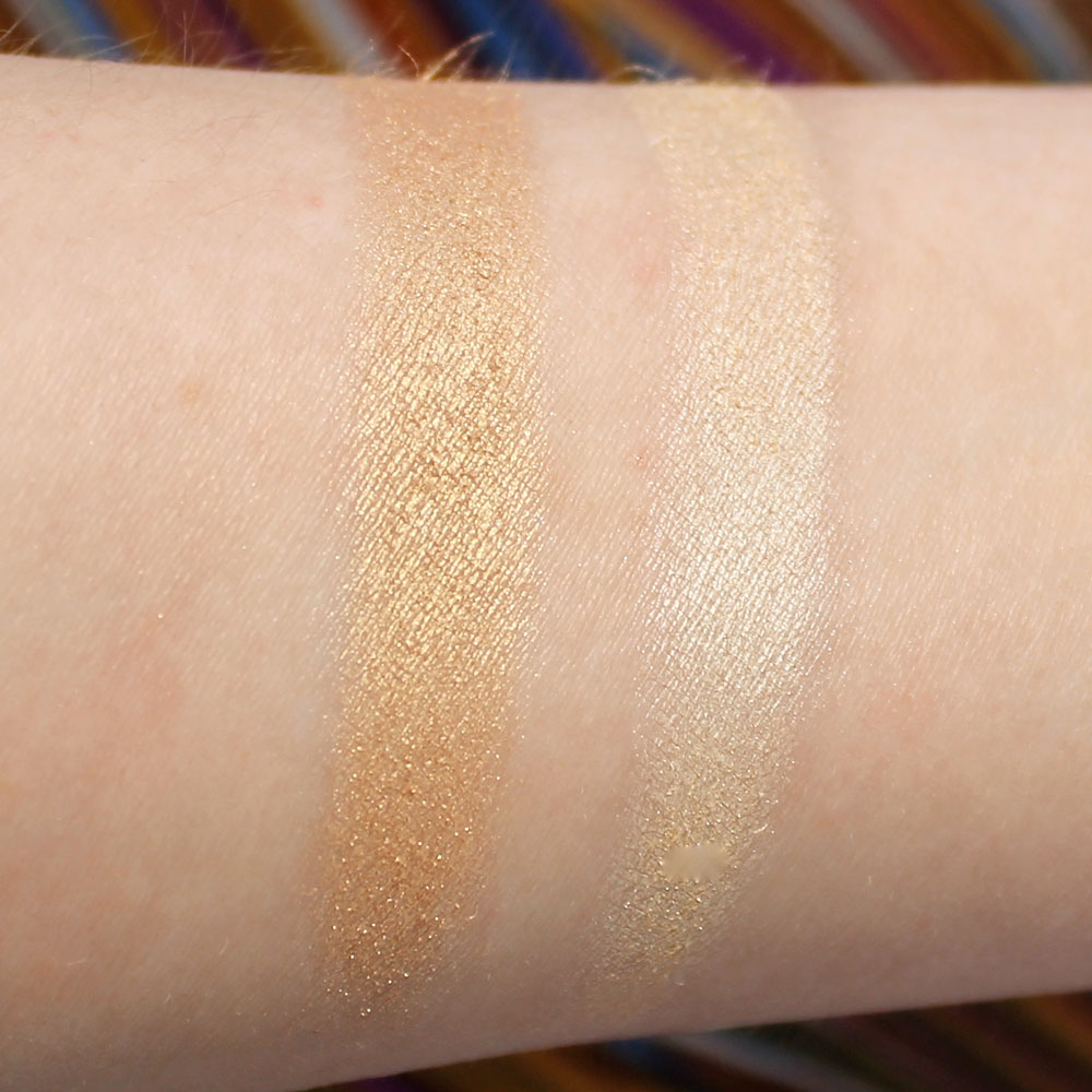 Lorac Light Source Illuminating Highlighter swatches