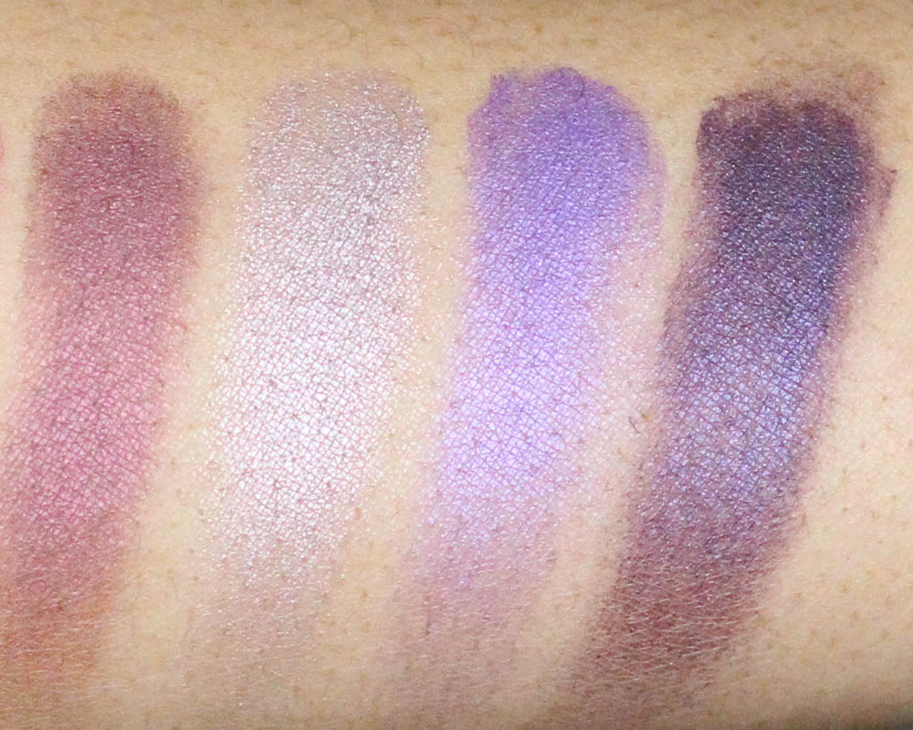 MAC Runway Worthy x9 swatches