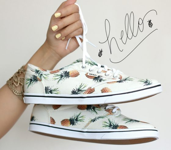 I found these pineapple print Vans at DSW on Saturday and now my life is complete