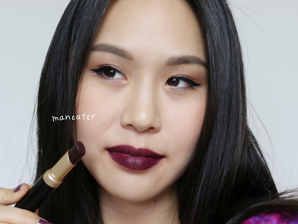 too faced la matte lipsticks maneater