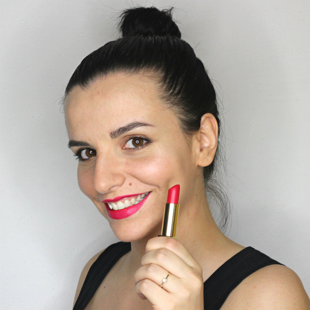 YSL Rouge Pur Couture The Mats 208 Fuchsia Fetiche Swatch