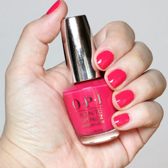OPI Infinite Shine 2 Lacquer in Running With The In-finite Crowd Swatches