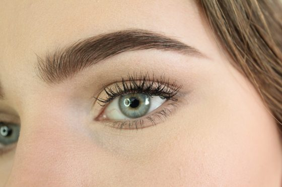 Brows filled in using NYX Micro Brow Pencil