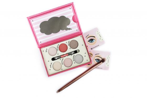 Essence How To Make Bright Eyes Makeup Box