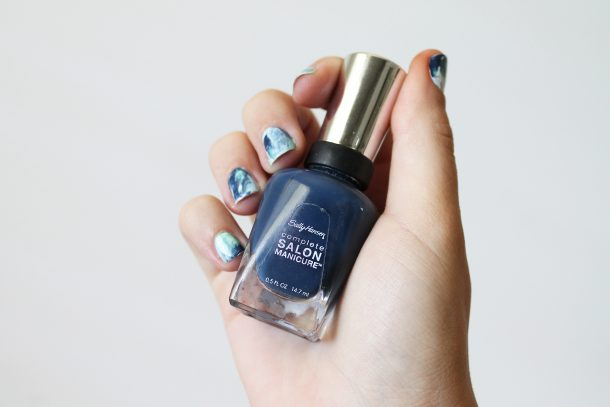 Sally Hansen Blue Rose