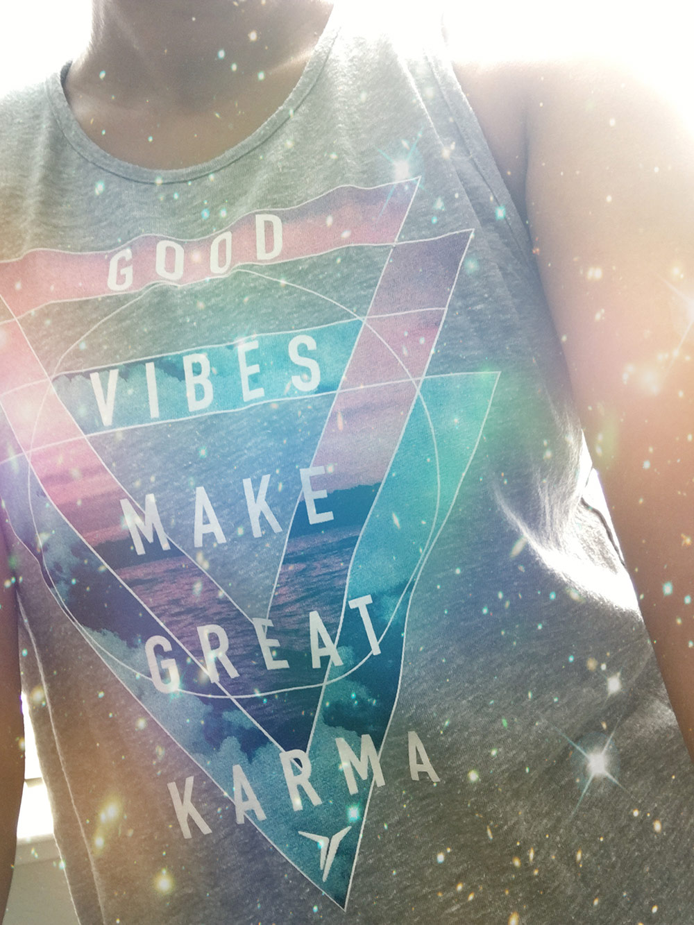 good vibes make great karma