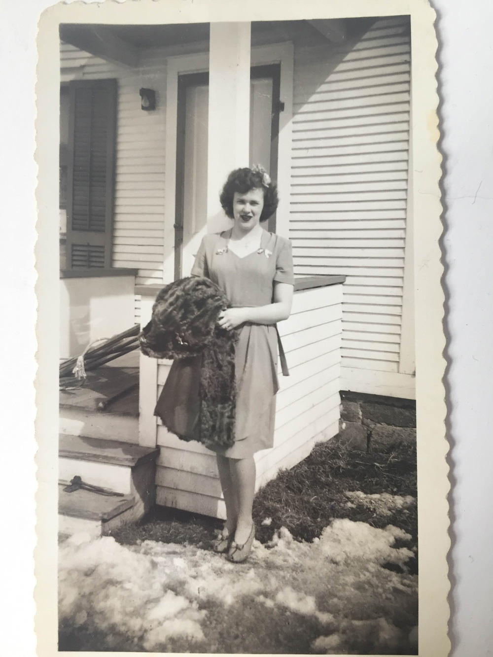 My grandma in the mid-'40s