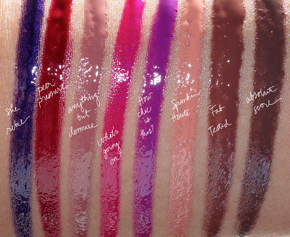 mac vamplify swatches