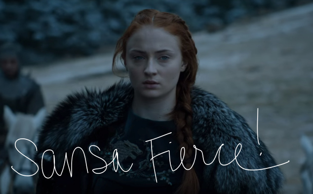 sansa fierce