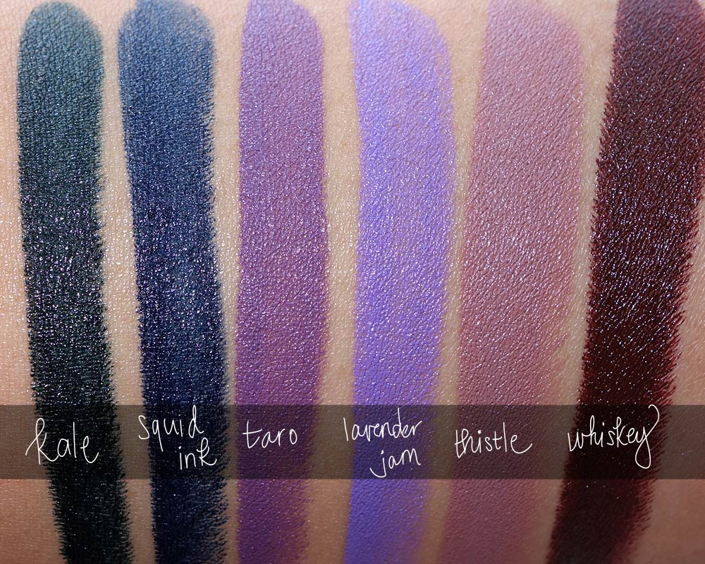 bite beauty sweet savory swatches