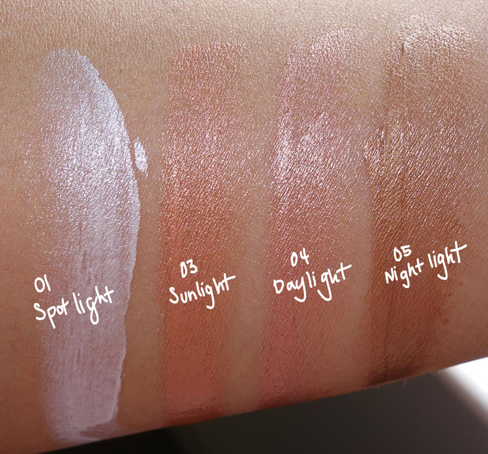 estee edit flash illuminator swatches