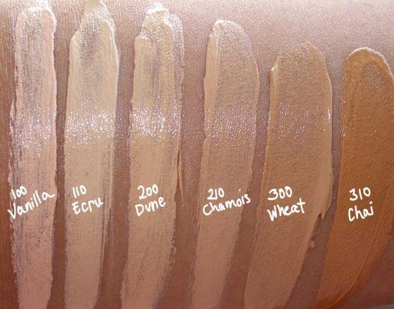 estee edit skin glowing balm swatches 1