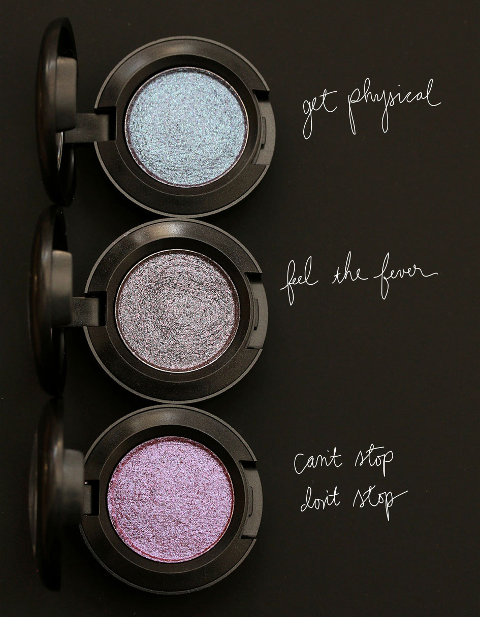 Mac Bangin Brilliant Collection: Get Your Glitter On The Go With The MAC Dazzleshadows