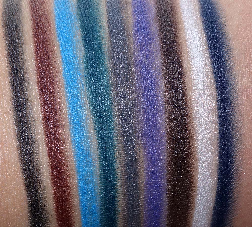 nars fall 2016 swatches eyeshadows velvet eyeliner