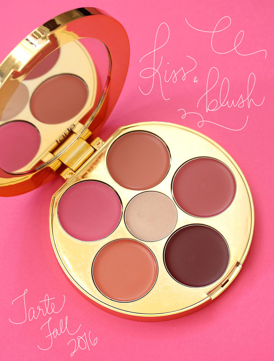 tarte kiss and blush