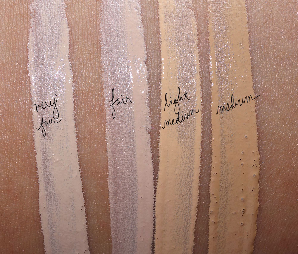 too faced born this way swatches