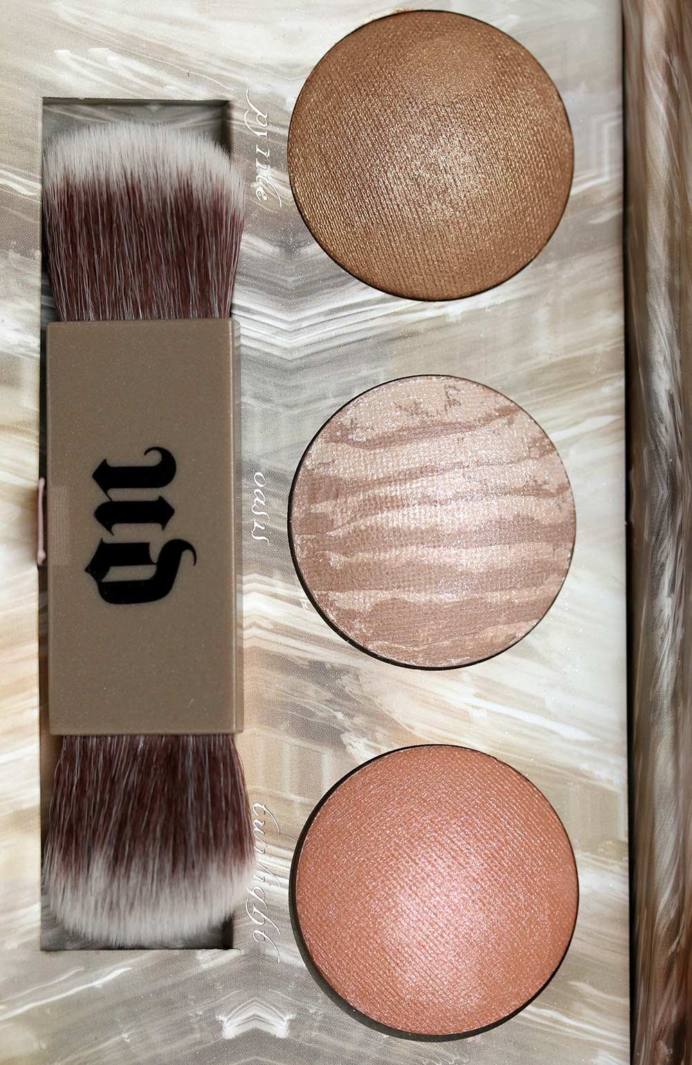 urban decay naked illuminatied trio closeup