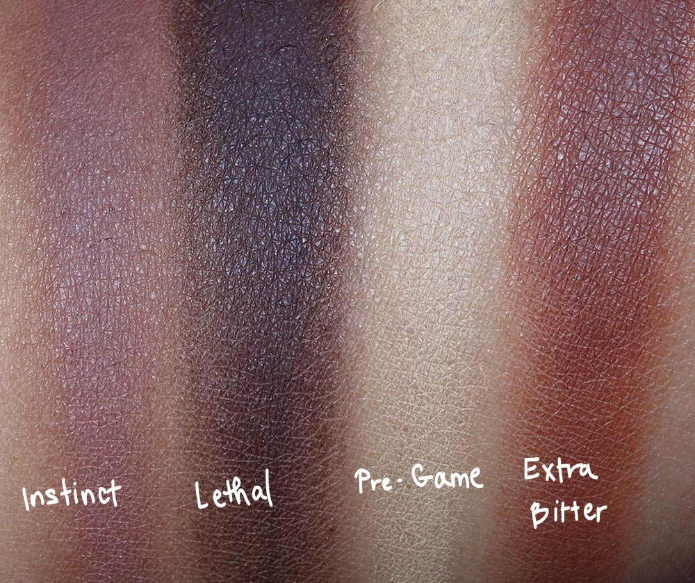 urban decay naked ultimate basics swatches 2