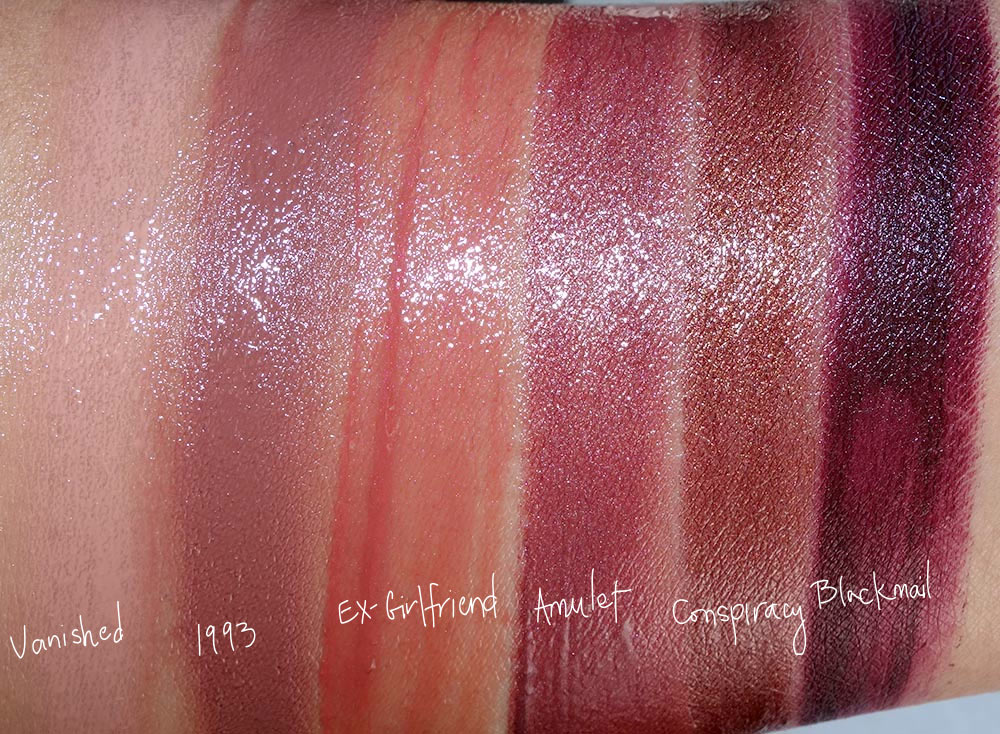 urban decay vice lipstick palette blackmail swatches 2