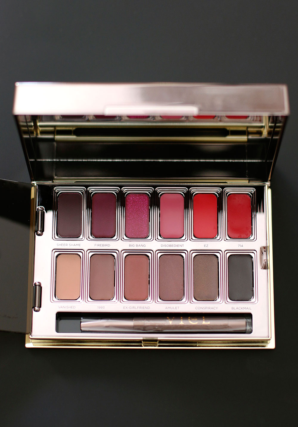 urban decay vice lipstick palette blackmail