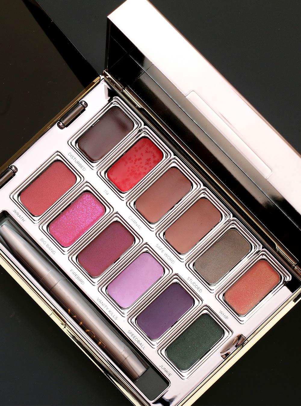 urban decay vice lipstick palette junkie open