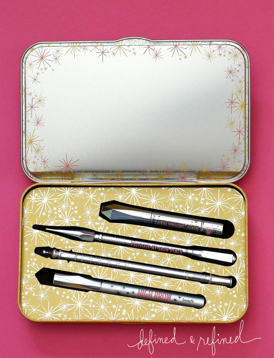 benefit defined refined brows kit