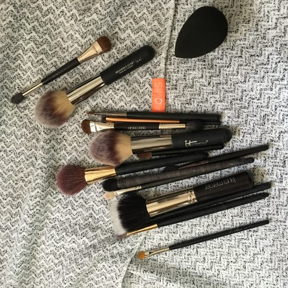 Yet Another Reason to Love the Aquis HairTowel: It Dries Makeup Brushes!