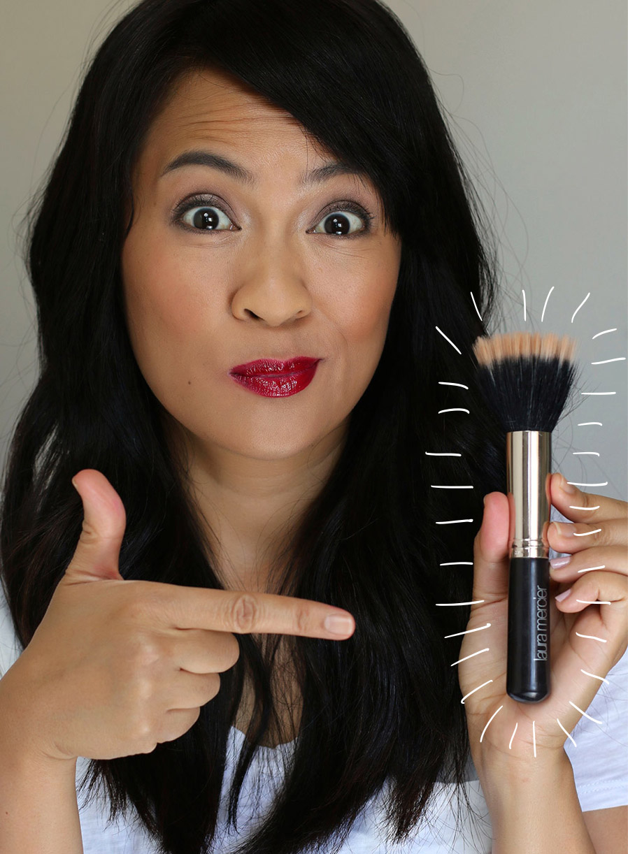 A finishing brush, otherwise know as your new BFF!