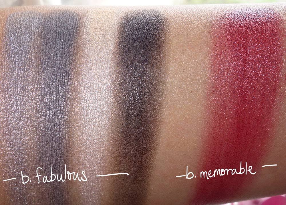 lilah b unique holiday set swatches